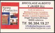 Bricolage Alberto y Javier
