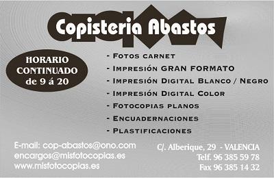 COPISTERIA ABASTOS